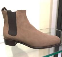 2263-Camo Chelsea Suede leren laarzen