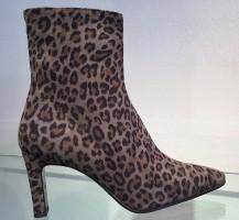 3242-Leopardo Suede Enkellaars