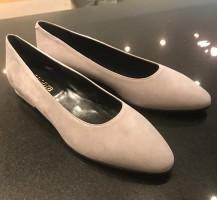 3481-Camo Suède Ballerina's